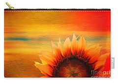 Carry-all Pouch featuring the digital art Daybreak 2017 by Kathryn Strick
