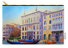 Daybreak At Venice Carry-all Pouch
