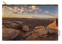 Carry-all Pouch featuring the photograph Daybreak  by Dustin LeFevre