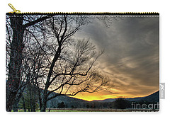 Daybreak In The Cove Carry-all Pouch by Douglas Stucky