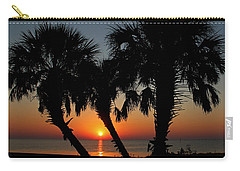 Carry-all Pouch featuring the photograph Daybreak by Judy Vincent