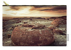 Daylight Leaving Redrock Carry-all Pouch