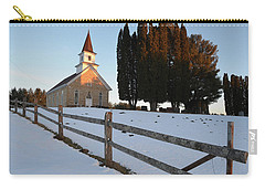 Carry-all Pouch featuring the photograph Daylight's End by Janice Adomeit