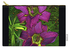 Daylillys 2 Carry-all Pouch