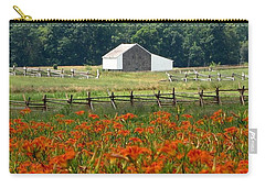 Daylily Drama Carry-all Pouch
