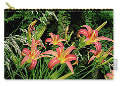 Daylily Grouping Carry-all Pouch by Shirley Heyn