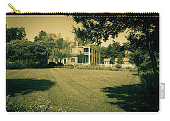 Carry-all Pouch featuring the photograph Days Bygone - The Hermitage by James L Bartlett