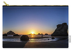 Day's End At Bandon Carry-all Pouch