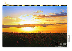 Carry-all Pouch featuring the photograph Day's End by DJ Florek