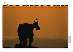 Carry-all Pouch featuring the photograph Day's End by Gary Lengyel