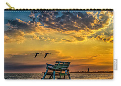 Days End In Cape May Nj Carry-all Pouch