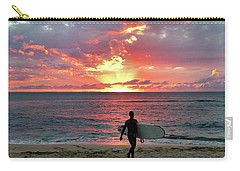 Day's End On The North Shore Carry-all Pouch