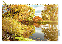 Days Last Rays Carry-all Pouch by Kristal Kraft