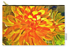 Dazzling Succulent Carry-all Pouch