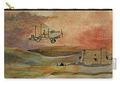 De Havilland Dh9 Carry-all Pouch by Ray Agius