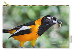 Carry-all Pouch featuring the photograph De-worm by Judy Kay