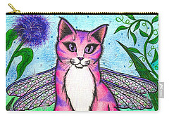 Dea Dragonfly Fairy Cat Carry-all Pouch