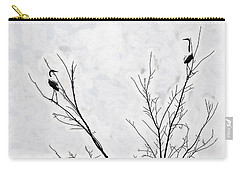 Dead Creek Cranes Carry-all Pouch