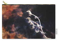 Carry-all Pouch featuring the photograph Dead Heads by Anna Louise