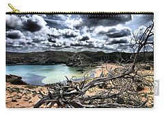Dead Nature Under Stormy Light In Mediterranean Beach Carry-all Pouch by Pedro Cardona