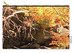 2 Of 6 Dead River Falls  Marquette Michigan Section Carry-all Pouch