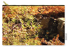 3 Of 6 Dead River Falls  Marquette Michigan Section Carry-all Pouch