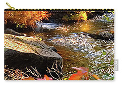 4 Of 6 Dead River Falls  Marquette Michigan Section Carry-all Pouch