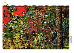 6 Of 6 Dead River Falls  Marquette Michigan Section Carry-all Pouch