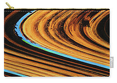 Carry-all Pouch featuring the photograph Dead Saguaro Abstract  by Tom Janca