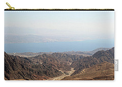 Dead Sea-israel Carry-all Pouch by Denise Moore