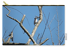 Carry-all Pouch featuring the photograph Dead Tree - Wildlife by Donald C Morgan