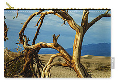Dead Tree In Death Valley 12 Carry-all Pouch by Micah May