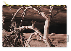 Dead Tree In Death Valley 15 Carry-all Pouch by Micah May
