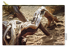 Dead Tree In Death Valley 16 Carry-all Pouch by Micah May