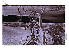 Dead Tree In Death Valley 6 Carry-all Pouch by Micah May