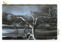 Dead Tree In Death Valley 9 Carry-all Pouch by Micah May