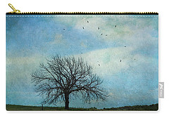 Carry-all Pouch featuring the photograph Dead Tree Still Lovely by Anna Louise