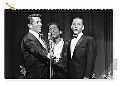 Dean Martin, Sammy Davis Jr. And Frank Sinatra. Carry-all Pouch