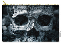 Carry-all Pouch featuring the photograph Death Comes To Us All by Edward Fielding