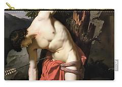 Death Of Saint Sebasian Carry-all Pouch