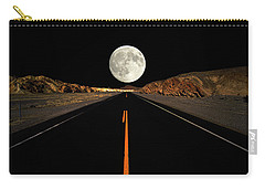 Death Valley Moon Rise Carry-all Pouch
