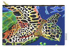 Debs Honu Carry-all Pouch by Debbie Chamberlin