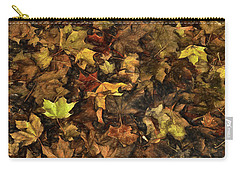 Decayed Autumn Leaves On The Ground Strong Stroke Carry-all Pouch