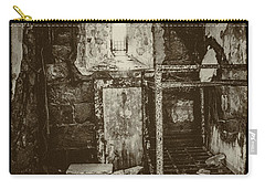 Carry-all Pouch featuring the photograph Decaying History  by Paul W Faust - Impressions of Light