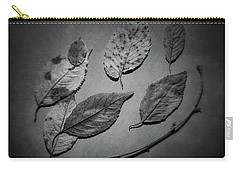 Decaying Leaves Carry-all Pouch by Tom Mc Nemar