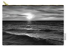 December 20-2016 Sunrise At Oro Station Bw  Carry-all Pouch