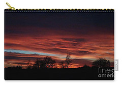 December 2016 Farm Sunset Carry-all Pouch