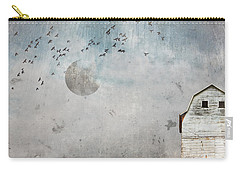White Rustic Country Barn Carry-all Pouch