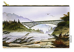 Deception Pass Bridge Carry-all Pouch