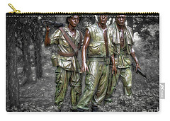 Decisive Moment  ... Carry-all Pouch by Chuck Caramella